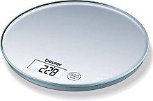Beurer Balanza de cocina KS 28 5 kg plateada -