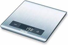 Beurer Balanza de cocina KS 51 5 kg plateada -