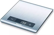 Beurer Balanza de cocina KS 51 5 kg plateada