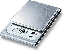 Beurer Balanza de cocina  KS22 3 kg plateada 704.10