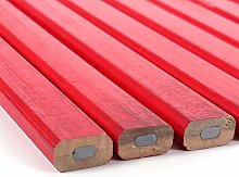 BHDD Pintura roja de Plomo Duro 10 Piezas/Juego de
