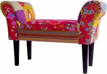 BHP - Patchwork Banco textil mobiliario Banco de