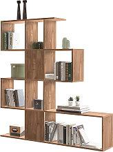 Biblioteca separador acabado roble A147 cm COMO