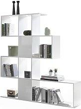 Biblioteca separador blanco lacado brillante A147