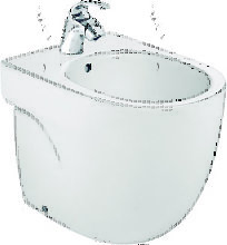 Bidé de porcelana compacto - Serie Meridian ,
