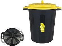 BigBuy Eco Cubo de Basura para Reciclaje (ø 44,5