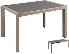 Bigbuy Home - Mesa comedor gris 120x82x76 cm