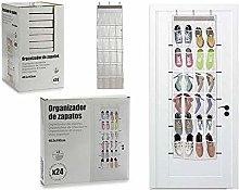 BigBuy Home S3602972 Zapatero Plástico, 2 x 160 x