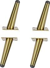 BINHC Patas de Muebles, 4 Patas de Metal para