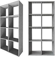 Biombo Separador de habitaciones Estante de libros