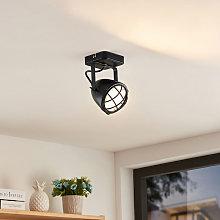 Biona foco de techo LED, anillo oro, 1 luz - Lindby
