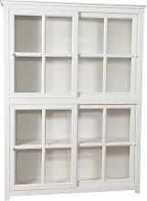 Biscottini - Biblioteca vitrina con puertas