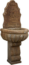 Biscottini - Fuente de pared de piedra,