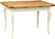Biscottini - Mesa de comedor extensible de estilo