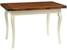 Biscottini - Mesa de comedor extensible de madera