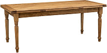 Biscottini - Mesa de estilo Country extensible de