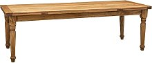 Biscottini - Mesa estilo Country madera maciza de