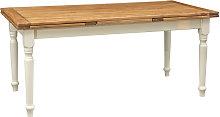 Biscottini - Mesa extensible de estilo Country de