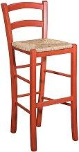 Biscottini - Taburete de madera para mesa de
