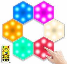 Bizcasa 6 Piezas Luces para Gabinetes LED,Luz de