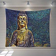 BKYHF Tapiz Mandala Alfombra Yoga meditación
