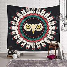 BKYHF tapizAlfombra de Pared Mandala, Tapiz de