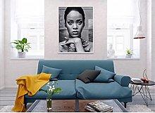 Black Lady Sexy Cool Decoración Pinturas en