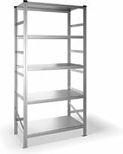 Blitzonline - Estantería metálica con 5 estantes