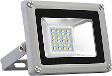Blivrig 20W LED Foco Exterior de alto brillo,