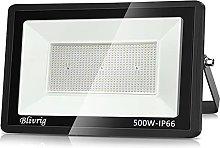Blivrig foco led exterior 500W, LED Foco Exterior,