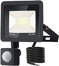 Blivrig LED Foco Exterior con Sensor Movimiento