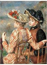 BLLXMX Pierre Auguste Renoir Pinturas sobre Lienzo