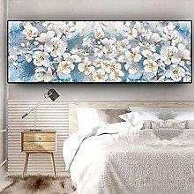 BLLXMX Pintura al óleo Abstracta de Flores