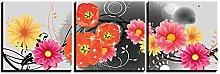 BLLXMX Pinturas sobre Lienzo 3 Paneles Naturaleza