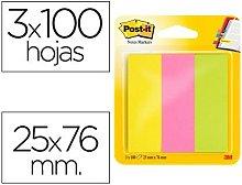 Bloc de notas adhesivas quita y pon post-it 671/3