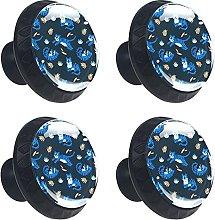 Bluetiger 4 pomos redondos para cajones con