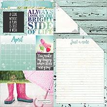 Bo Bunny Bobunny–Calendario Girl Doble Cara
