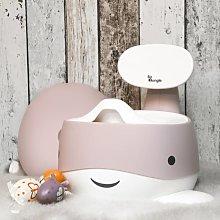 Bo Jungle Orinal de bebé B-Whale rosa pastel