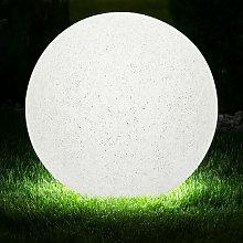 Bola exterior lámpara enchufable óptica de