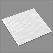Bolsa 80 servilleta blanca 1 capa 33x33cm papel