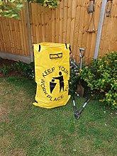 Bolsa de basura Raxsax, amarillo