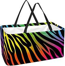 Bolsa De La Compra Barra De Color Cesta De La