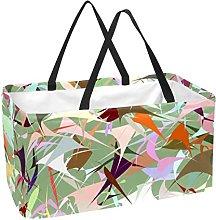 Bolsa De La Compra Colorido Abstracto Cesta De La