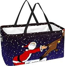 Bolsa De La Compra Papá Noel Cesta De La Compra