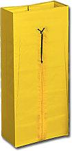 Bolsa Dust con cordon y cremallera Amarillo
