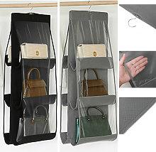 Bolso organizador de armario colgante transparente