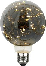 Bombilla E27 Deco Smoked micro LED G95 1,5W Blanco