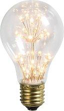 Bombilla E27 fantasía LED A60 1.4W 136LM 2100 K