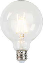 Bombilla filamento LED E27 regulable G95 5W 470lm