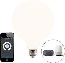 Bombilla globo LED regulable Smart app E27 1055lm